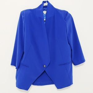UMGEE • Royal Blue Blazer size Large